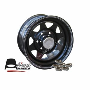 "New 15"" Pro Black Rim for Toyota Quantum 